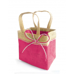 FIJI - Sac Medium Fuchsia par 10