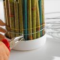 CYLINDRE - Mousse OASIS IDEAL cylindre D8 cm par 132