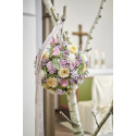 Mousse Fleurs Fraiches Sphère 12cm par 5