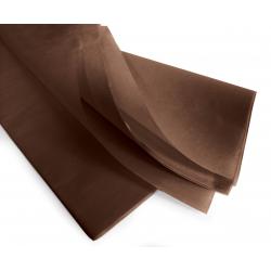 PAPIER DE SOIE - Rame de 480 feuilles 50 x 75 cm Chocolat