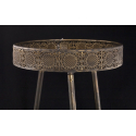 AINI - Table Ronde Bronze H58 x D40cm