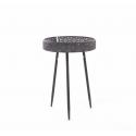 AINI - Table Ronde Noire H58 x D40cm