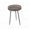 Table Ronde Bronze h58D40cm