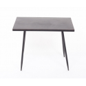 EVY - Table Rectangle Noire L60 x P35 x H49.5 cm