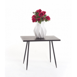 Table Rectangle Noire l60x35xh49.5cm