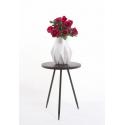 EVY - Table Ronde Bronze H51.5 x D40 cm