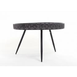 AINI - Table Ronde Noire H45.5 x D70 cm