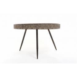 AINI - Table Ronde Bronze H45.5 x D70 cm