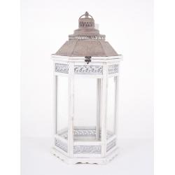 "Lanterne""Camondo""Blanc H70cm"