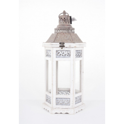 "Lanterne""Camondo""Blanc H60cm"