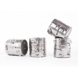 GIAN - Pot Argent Mat 12X11H