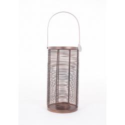 COLINE - Lanterne Cuivre H35 x D18 cm