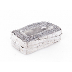 NEST - Vannerie Rectangle L24 x P14 x H7 cm
