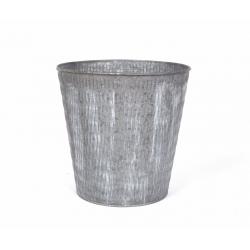 JOAS - Cache Pot Zinc D25 x H25 cm