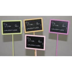 """Pique Ardoise """"Vive Les Vacances"""" Par24"""