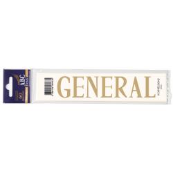 Lettre Deuil GENERAL Pochette