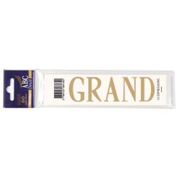 Lettre Deuil GRAND Pochette