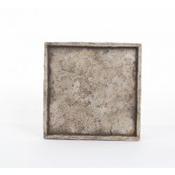 """Plateau""""Antica""""28x28h2.5cm Beige"""