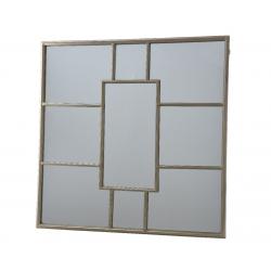 Miroir en Fer Or 2 x 80 x 80 cm