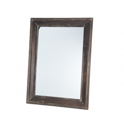 Miroir en Bois Brun 3.5 x 79 x 109 cm