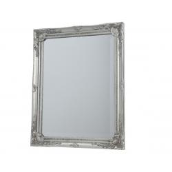 Miroir en Bois Argenté 3.8 x 63 x 73 cm