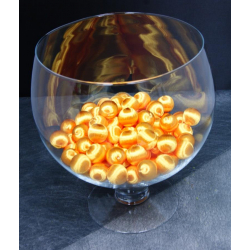 Boules soie 28mm x1l Orange