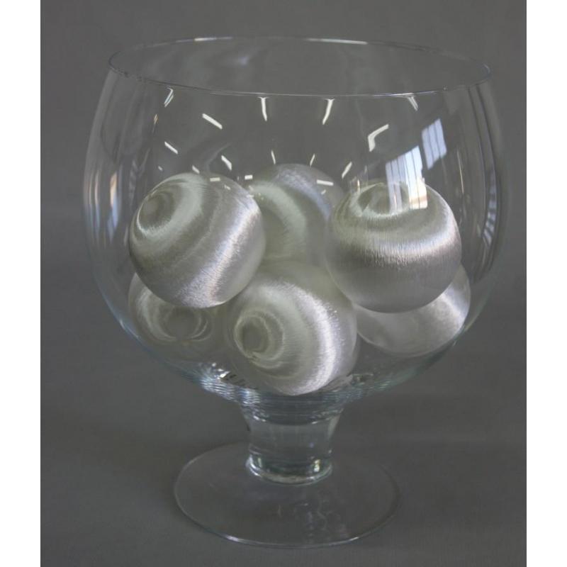 Boules soie 48mm 2.5L Blanc