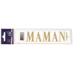 Lettre Deuil MAMAN Pochette