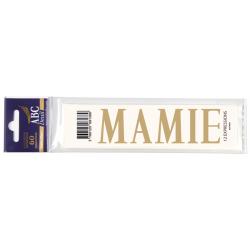 Lettre Deuil MAMIE Pochette