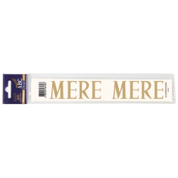 Lettre Deuil MERE Pochette