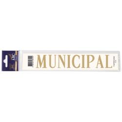 Lettre Deuil MUNICIPAL Pochette