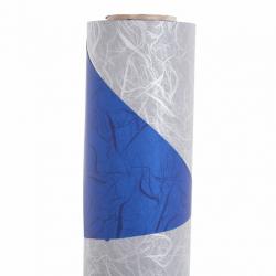 Opaline 0.8x40m Argent / Bleue