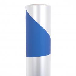 Opaline 0.8x40m Bleu / Argent