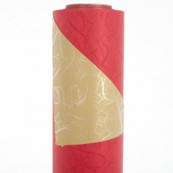 Opaline 0.8x40m Rouge / Or