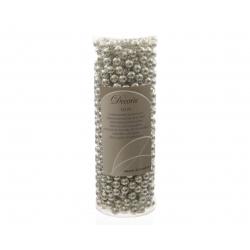 Guirlande Perles plastique 8mm x 10m Argent