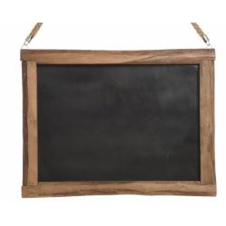 Tableau Noir avec Cordage 50x2x38 cm