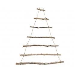 Arbre Branche Bouleau Enneigé 70x90 cm
