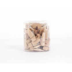 Epingles à linge en bois h 3.5 cm par 36 pièces
