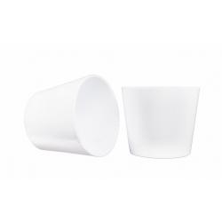 IVA - Cache-pot D19 x H17 cm par 4 Blanc