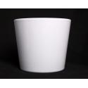 Cache-pot d 19 h 17 cm Blanc par 4