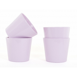 IVA - Cache-pot D17.2 x H15 cm par 4 Rose Clair