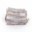 Plaque Ecorce Blanchie 15 x 15 cm par 10
