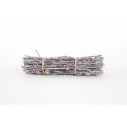 Fagot de Bouleau Bois Blanchi L30 cm