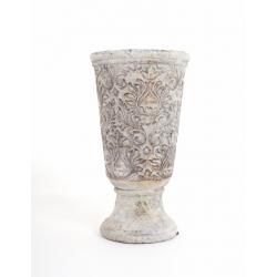 Vase Medicis Flora Brun d14,5 x h26 cm