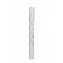 ROTALIA - Papier cadeaux Sapin Blanc 0.7 x 25 m