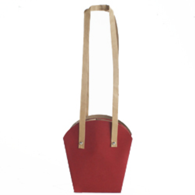 Sac Forest 12x12 H19 cm Rouge par 10