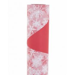 Opaline 0.8x40m Blizzard Rouge / Blanc