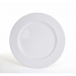Assiette Plastique Blanche d 28 cm