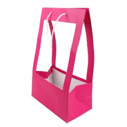 Sac Porte Bouquet MM Fuchsia 25x13x40 par 10