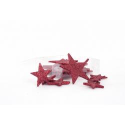 Etoile Rouge 3 Tailles 35/45/55 mm par 24